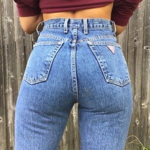 Guess High rise vintage jeans